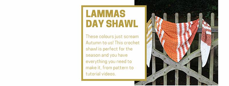 Lammas Day Shawl