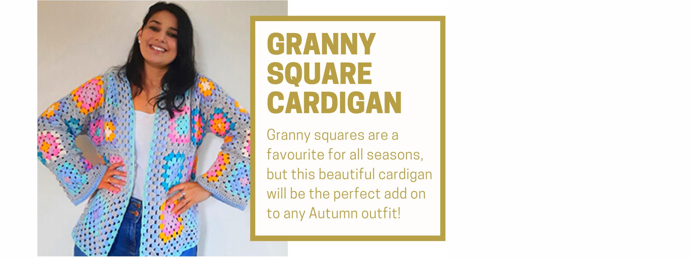 Granny Squares Cardigan
