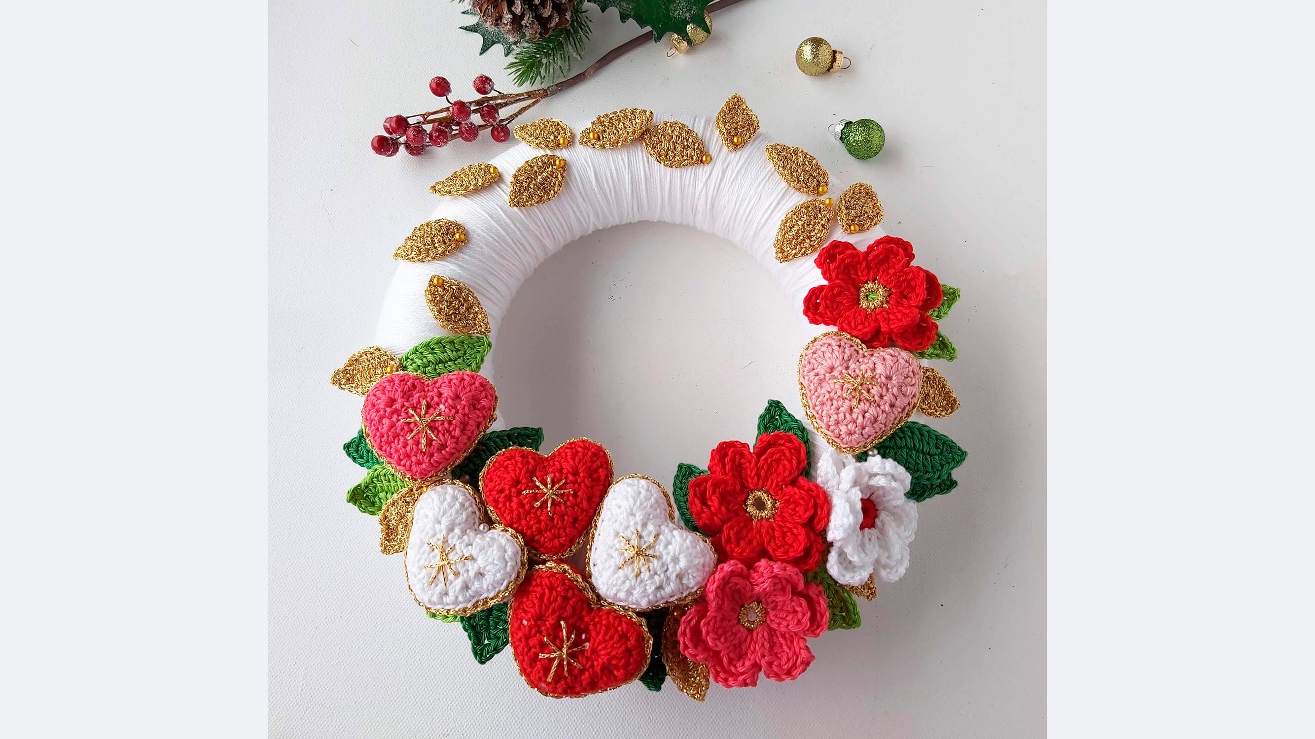 Carmen Heffernan Christmas Wreath