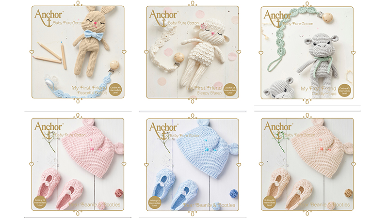 Anchor Baby Pure Cotton Kits