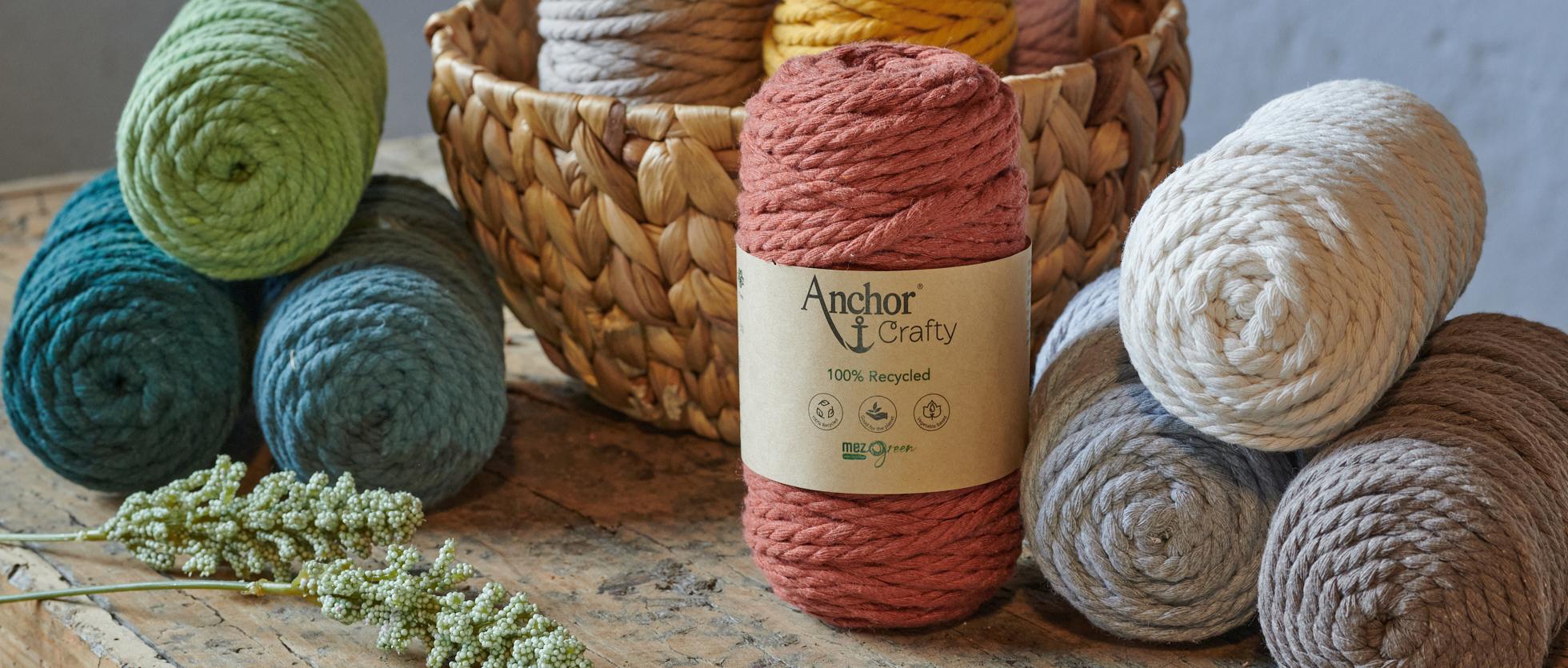 Anchor Crafty Macrame Yarn