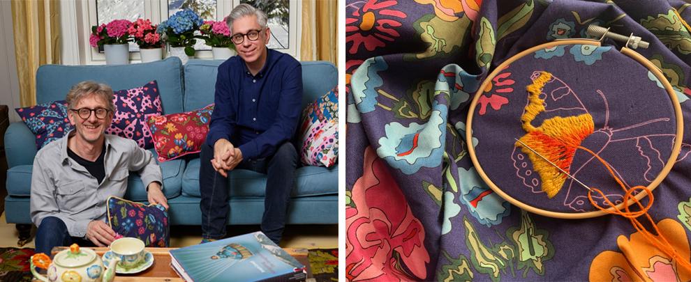 Arne and Carlos fabrics