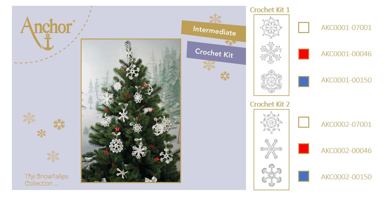 Crochet Snowflakes Collection