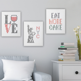 big and easy cross stitch collection thumbnail