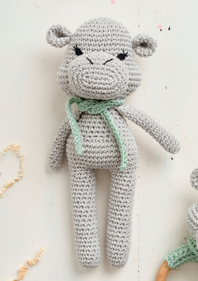Baby Knitting Patterns Hippo Amigurumi Free Crochet Pattern ... | 555x392
