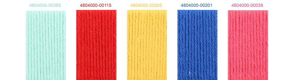 Anchor Baby Pure Cotton New Shades